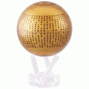 11cm Golden Prajna Paramita Heart Sutra MOVA Globe