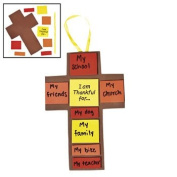 I Am Thankful For Fall Cross Craft Kit - Vacation Bible School & Crafts for Kids
