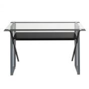 Studio Designs 50707 Calico Designs Colorado Desk, Black/Silver