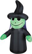 Gemmy Airblown Outdoor Witch Kid 1.2m