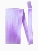 Bias Satin Tape ~ 1.3cm Wide Double-fold Bias Tape ~ Bright Lavender ~ Poly Cotton (3 Yards / Pack) Set of 4