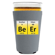 Coolie Junction Beer Elements Funny Pint Glass Coolie Grey