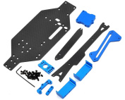 EXOTEK Racing #1362 TEK-SCT V2 Micro Truggy/ SCT/ Rally Conversion Blue for Team Losi Micro SCT