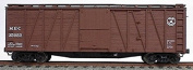 Accurail HO 12m Outside Braced Wood Boxcar Kit Maine Central #35807