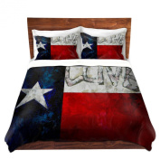 Duvet Cover Brushed Twill Twin, Queen, King SETs from DiaNoche Designs by Patti Schermerhorn Unique Home Decor and Designer Bedding Ideas Love for Texas