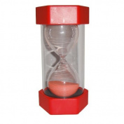 Security Fashion Hourglass 15 Minutes Sand Timer -Red