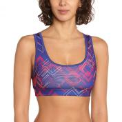 PUMA Ess Gym Women's Bustier Sports Bra with Graphic
