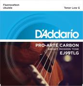 D'Addario EJ99TLG Pro-Arté Carbon Ukulele Strings, Tenor Low G