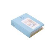 64 Pockets Colourful Fuji Instax Mini Book Style Photo Album Holder Card Holder for Fujiflim Instax Mini 7S Mini 8 Mini 25 Mini 50S Films - Blue