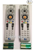 RC66RX 2 Pack DirecTV RC66RX RF Remote Control 2 Pack- R,H/HR & Above - XMP