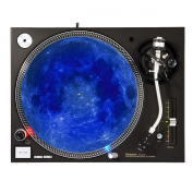 Blue Moon - DJ Turntable Slipmat