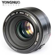 Yongnuo YN50mm F/1.8 Lens Large Aperture AF Lens in Black For Canon EOS Rebel Digital Camera