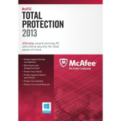 McAfee Total Protection 3 PC's 2013