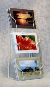 Photographer's Edge, Tabletop Rack, Horizontal Pockets For 13cm x 18cm Cards