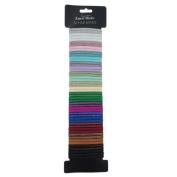 Ardisle 50 Colourful Quality Thick Endless Hair Band Elastics Bobbles Bands Ponios Girls
