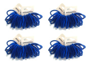 Allsorts® 144 Royal Blue Endless Elastics Hair Bobbles Elastic Bands Hair Accessory