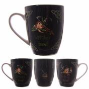 Lisa Parker Witches Brew Bone China Mug - Birthday Christmas Gift present