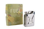 Kit Bag 'Fuel' Tank 120ml Stainless Steel Hip Flask