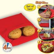 New Microwave Baked Potato Cooking Bag Potato
