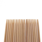 """ThinkBamboo Premium 5mm Thick Extra Long Bamboo Skewers, 14.9"""" 100pc Bag"""