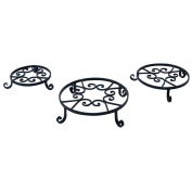 Panacea Old World Forge Black Pot Trivet - 25cm .