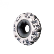 Thomas Sabo Skull Bead Stoppers Silver Blackened KS 0008-648-12
