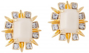 Lele Sadoughi Gold Plated Brass Solstice Sand Earrings