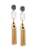 Lele Sadoughi Gold Plated Brass Fishtail Starry Night Earrings