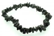 Seraphinite Gemstone Chip Bracelet