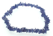 Tanzanite Gemstone Chip Bracelet