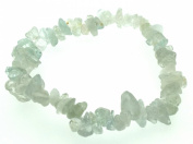 Aquamarine Gemstone Chip Bracelet