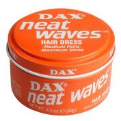Dax Neat Waves Hair Dress Medium Hold, Maximum shine 99g100ml Pack of 3