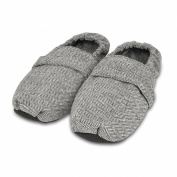 Zhu-Zhu Microwavable Slippers Herringbone Unscented Feet Warmers - One Size UK 7-10
