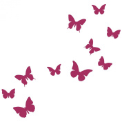 Classic butterfly wall stickers by Stickerscape