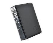 DSstyles Classic Bling. Crystal Photo Album Card Holder for Fujifilm Instax Mini 7S 8 25 50S 90 Films - Black