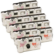 10x PHOTO PORST Disposable Camera/Wedding Camera / Butterfly