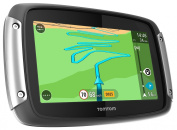 TomTom Rider 400 Satellite Navigation System with Lifetime European Maps, Traffic and Speed Camera Updates