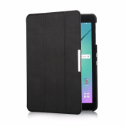 EasyAcc Samsung Galaxy Tab S2 9.7 Smart Shell Case - Ultra Slim Lightweight Stand Cover with Auto Sleep/Wake Feature for Samsung Galaxy Tab S2 Tablet (9.7 Wi-Fi SM-T810 / LTE SM-T815), Black