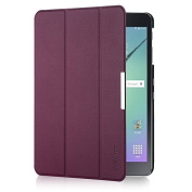 EasyAcc Samsung Galaxy Tab S2 9.7 Smart Shell Case - Ultra Slim Lightweight Stand Cover with Auto Sleep/Wake Feature for Samsung Galaxy Tab S2 Tablet (9.7 Wi-Fi SM-T810 / LTE SM-T815), Purple