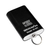 Bluelans® Portable USB 2.0 Memory Card Reader Adapter for Micro SD TF T-Flash Cards