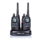 Midland G7 Pro 2-Way PMR446 Walkie Talkie Twin Radio Pack - Black