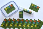 10 x, Geocaching Sticker Finderhinweis Dosenaufkleber, Petling, LOCK LOCK & Sticker