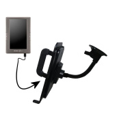 Gooseneck Holder Base with Suction Cup Mount compatible with Archos 70c eReader Tablet