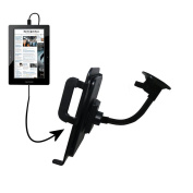Unique Suction Cup Mount / Holder Stand designed for the Nextbook Next5 Tablet