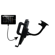 Unique Suction Cup Mount / Holder Stand designed for the Elonex 760ET eTouch Android Tablet Tablet