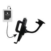 Gooseneck Holder Base with Suction Cup Mount compatible with txtr GmbH txtr reader Tablet