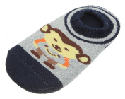 JTC Baby Toddler Kid's Cartoon Non Slip Boat Socks