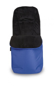UNIVERSAL FOOTMUFF COSY TOES FITS BUGGY & ALL PUSCHAIR ACCESSORIES - BLUE