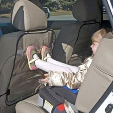 Bluelans® Car Auto Seat Back Protector Cover for Kids Children (Black)