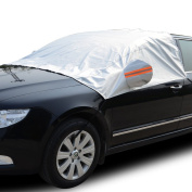 Tofern Water Resistant Car Top Cover Frost and Winter Protector For CAR SUV Business Car Estate Car - Car - Silver